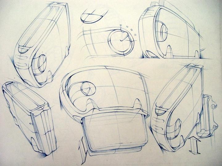 产品手绘|生活用品|工业/产品|刘雅琴yannis