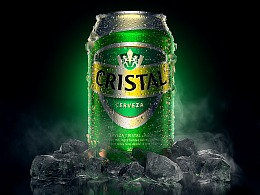 Cristal | Full CGI Packshot