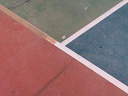 篮球场的线