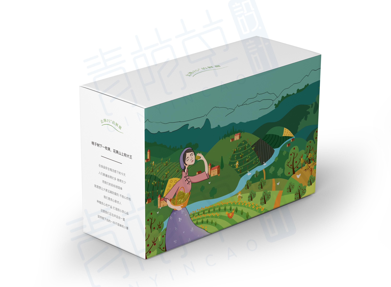 猕猴桃手绘包装|平面|包装|鸿小铭 - 原创作品 - 站酷图片