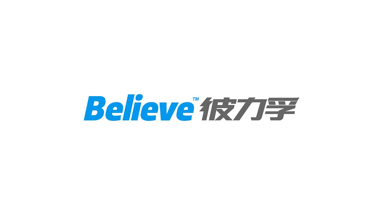 哹n�+_believe彼力孚塑料板材logo设计