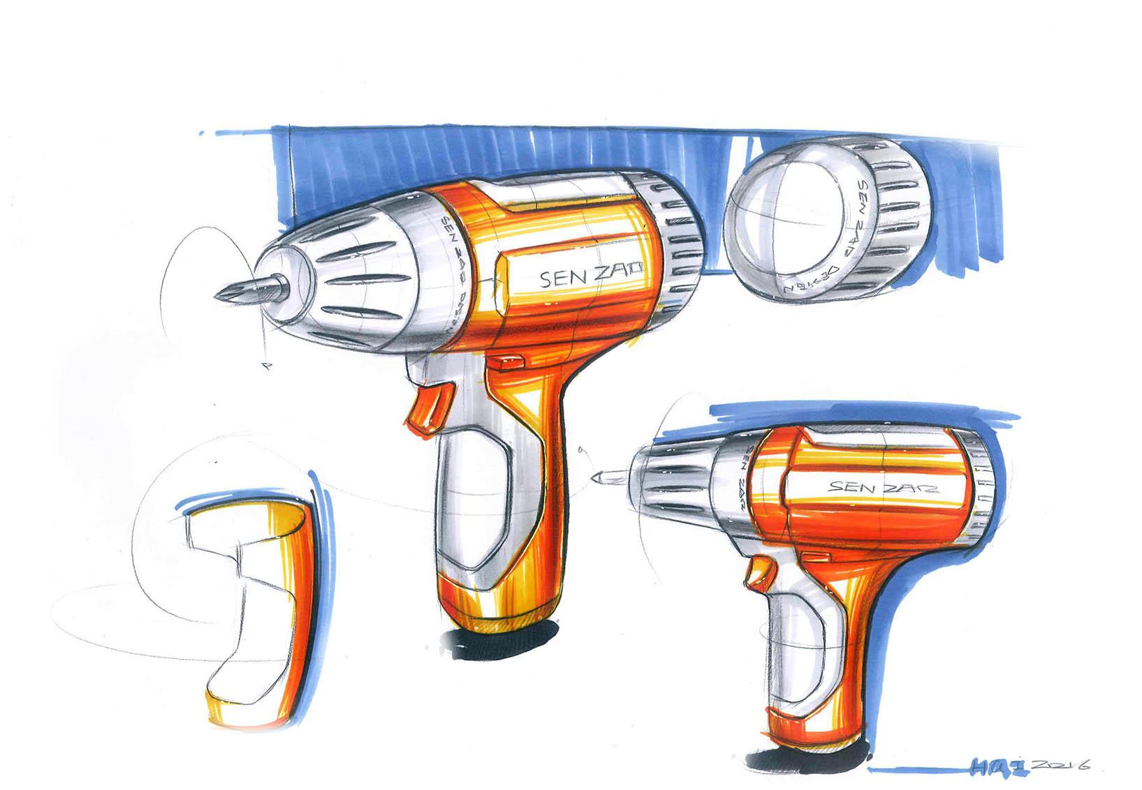 工业设计手绘|工业/产品|工业用品/机械|senzao