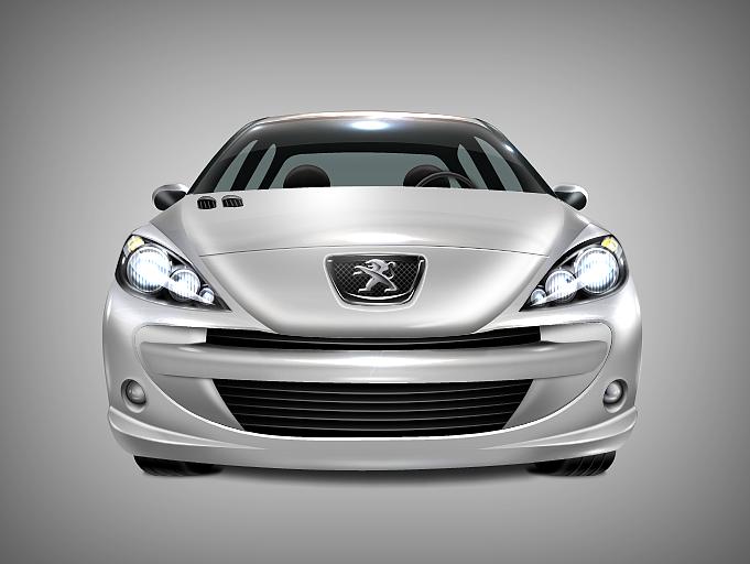 第一次画汽车,就献给自己的座驾吧