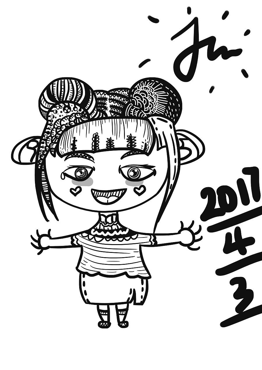 手绘插画日记 练习