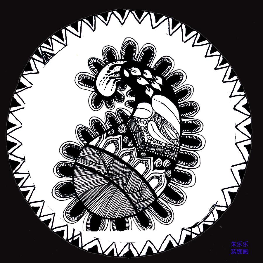黑白装饰画|vi/ci|平面|猪的五花肉