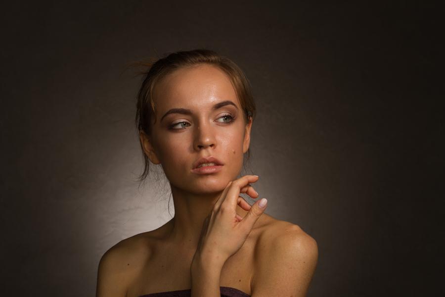 低调女模精修 人像 摄影 PS修图学院 - 原创设计