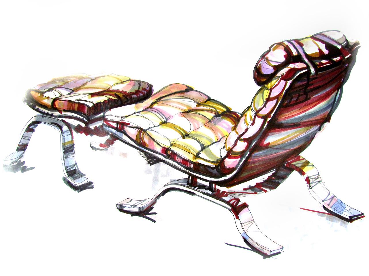 马克笔手绘:汽车马克笔手绘|工业/产品|交通工具