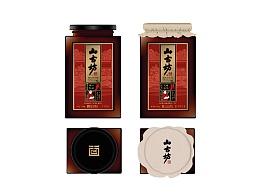 """2014 山古坊""""豆豉""""系列包装设计"""