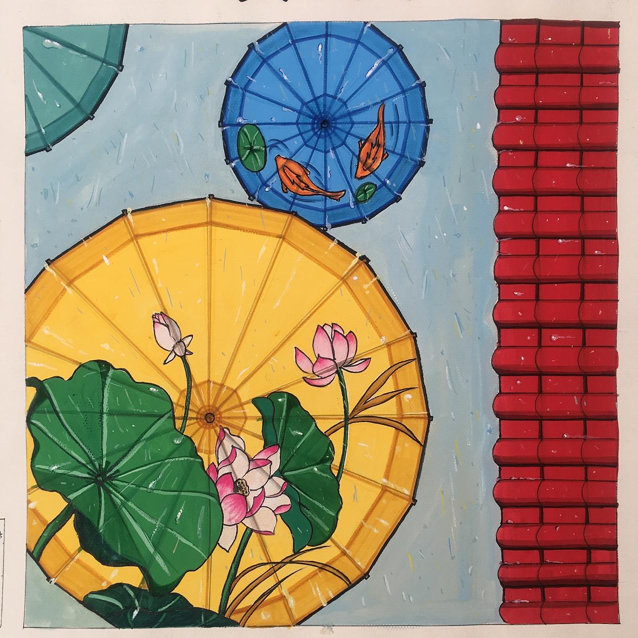 16年—17年视觉传达考研手绘