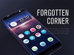《遗失的角落》手机主题设计