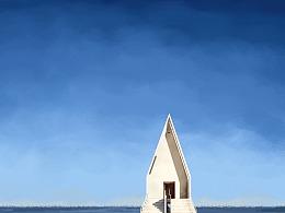 海边的教堂