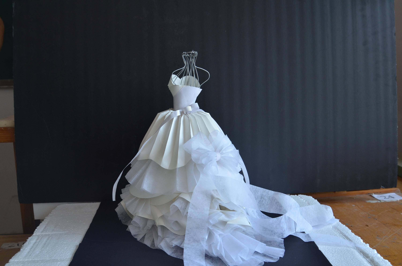 立体构成 仿生篇 婚纱