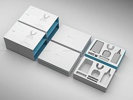 非常强大的电动牙刷包装设计