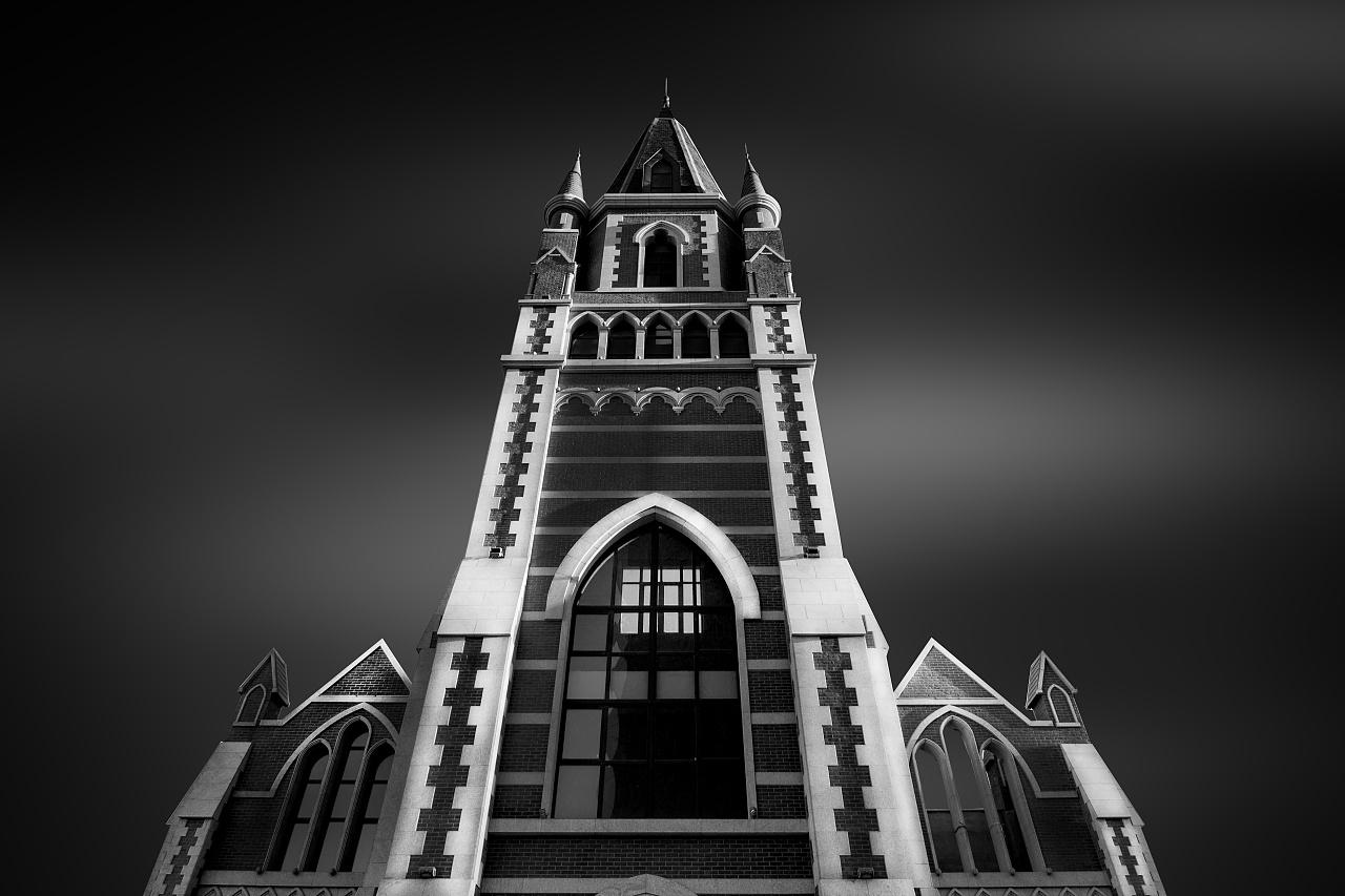 黑白建筑摄影练习