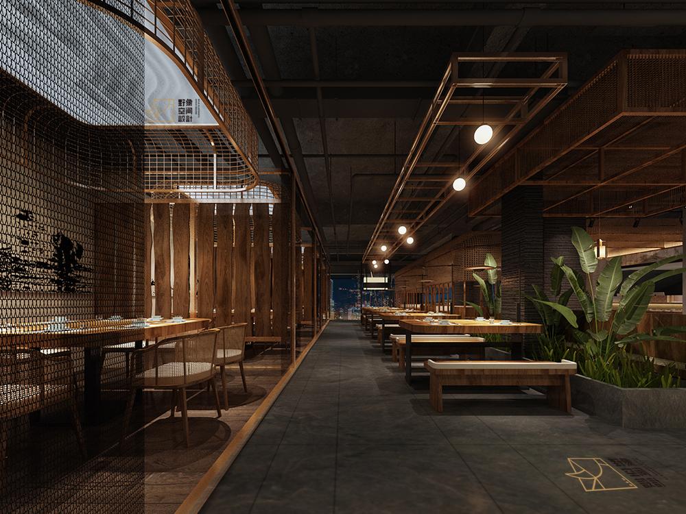 野象特色餐厅设计飞机稿欣赏