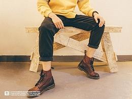 STRETAG思锐泰格冬季新款黑色牛仔裤 休闲直筒裤