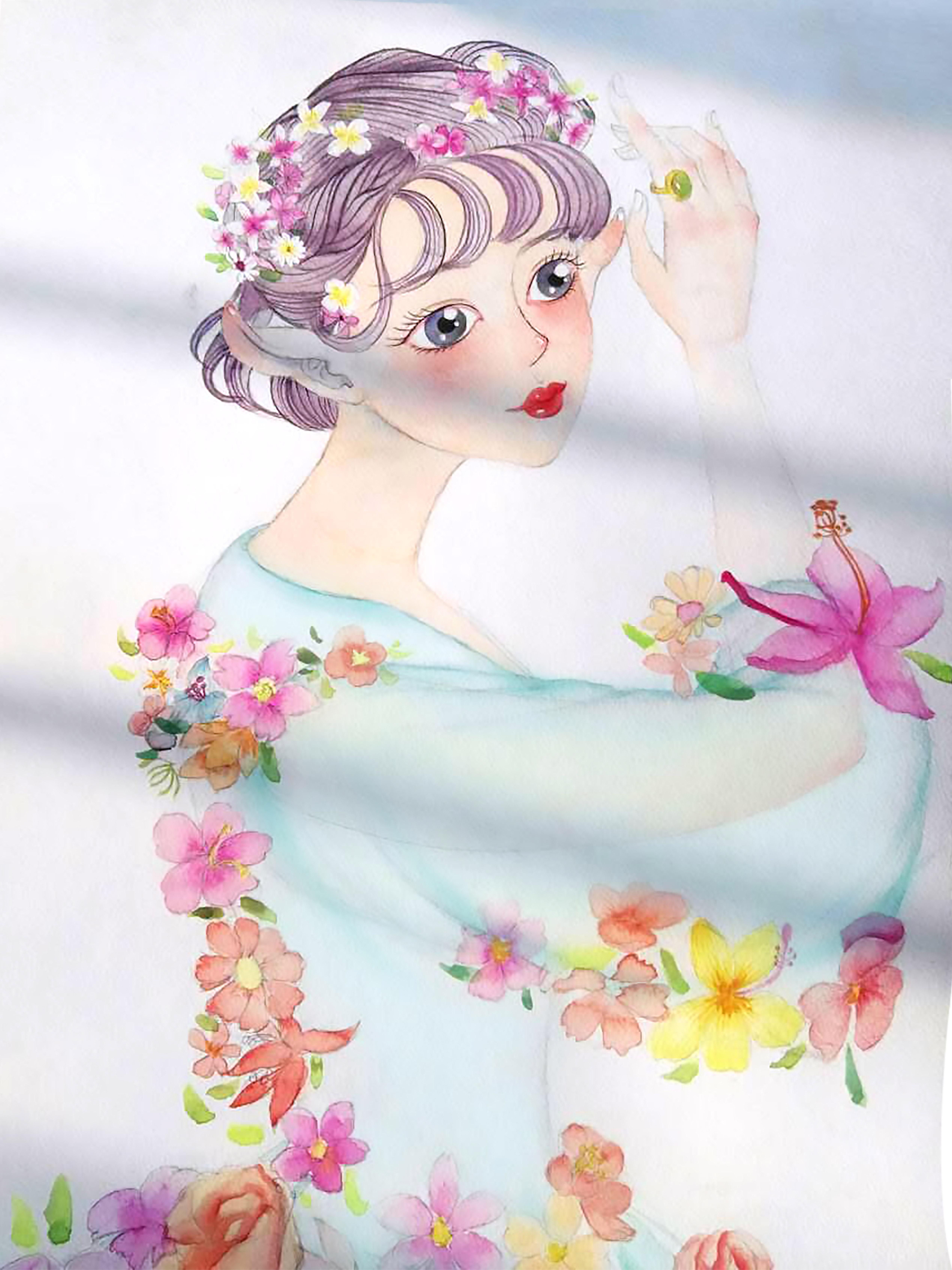 花仙子 图片