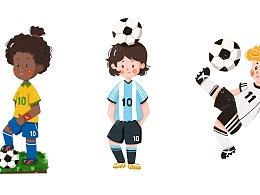 世界杯——小球星~(含GIF手绘过程)