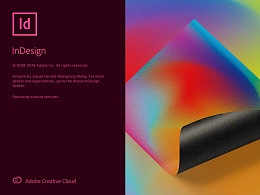 Adobe InDesign 2020 开启界面_Experimental posters