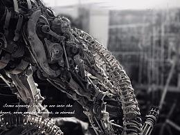 九素(北京)原创机械装置雕塑---玄武
