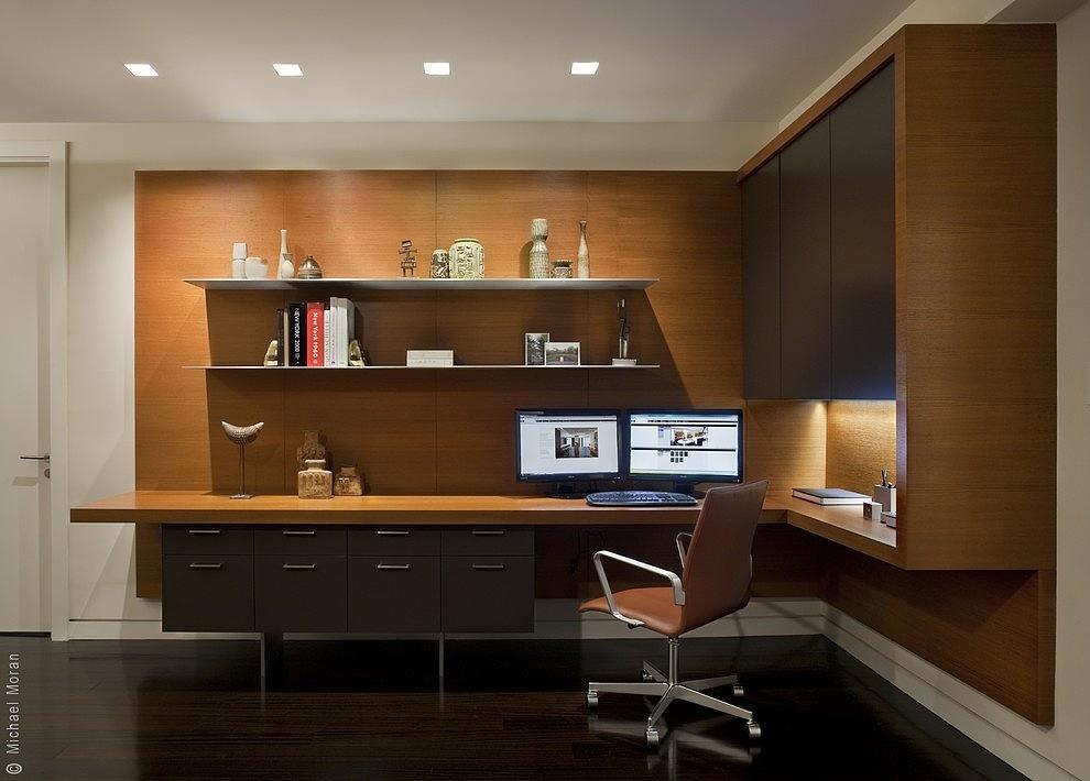 【咸阳塞纳春天】书房装修案例2|空间|室内设计|咸阳图片