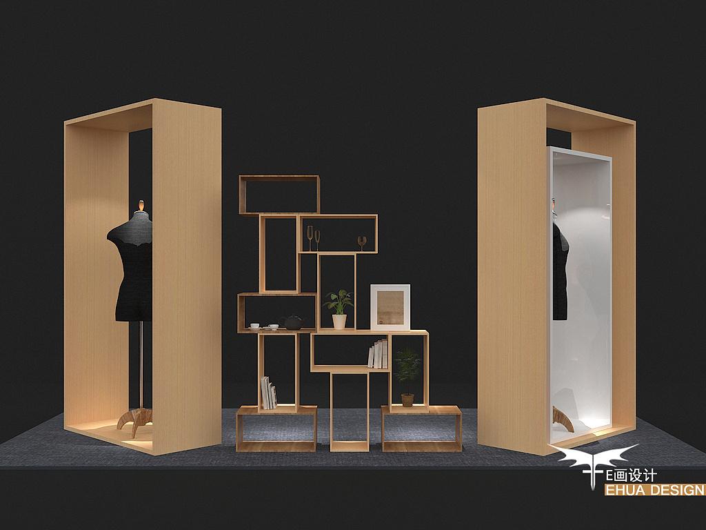 e画设计‖ehua design 日式橱窗设计图片