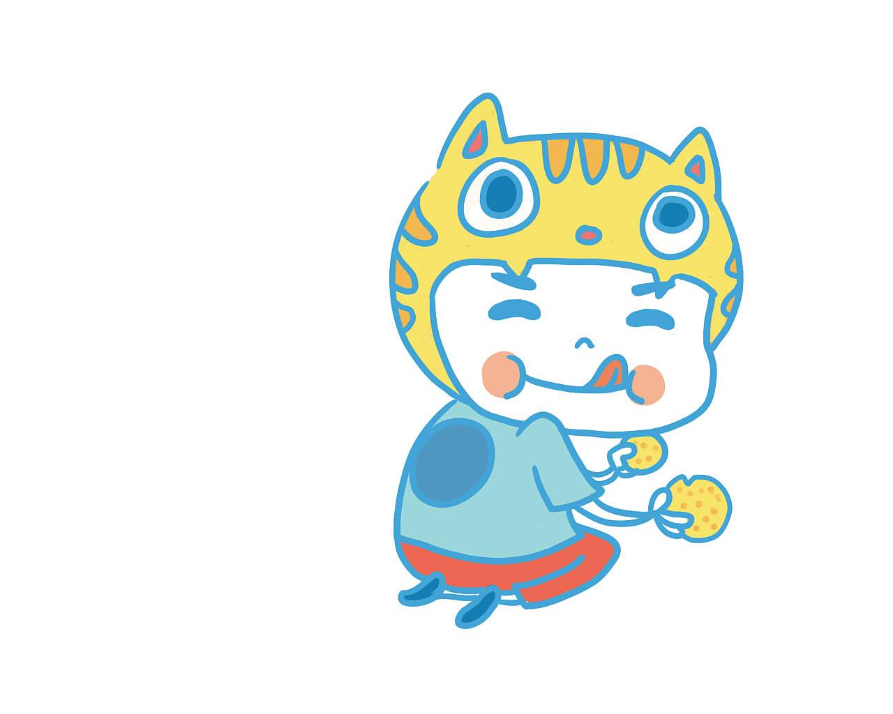 卡通LOGO 食品类LOGO 卡通形象设计 吉祥物