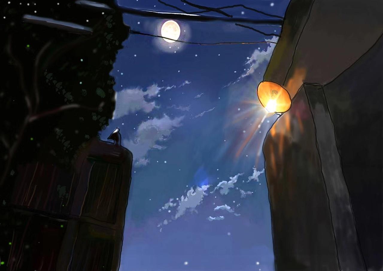 童年记忆中的破旧凳子_记忆中的巷子|插画|商业插画|杨溢121 - 临摹作品 - 站酷 (ZCOOL)