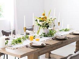 table setting 餐桌布置 餐厅空间美学