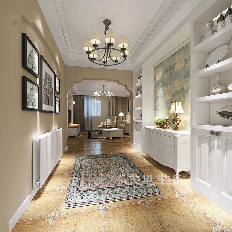 锦绣山河 房子户型: 四室两厅 装修风格: 混搭风格 小区面积: 160平