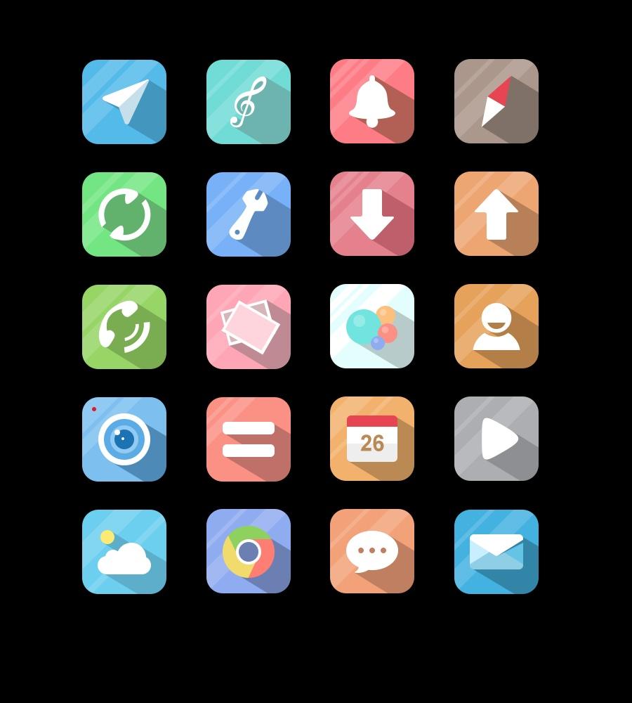 手机图标|ui|图标|小胖歌儿 - 原创作品 - 站酷