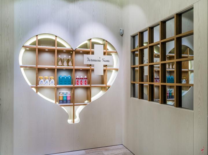 【S′ana药店】成都药店v药店|成都学校装修|成成都室内设计药店图片