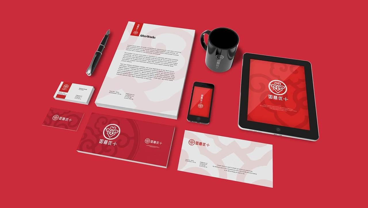 民生银行旗下保险素描保险logo保险vi设计创意几何体设计品牌图片
