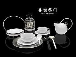 陶瓷中式餐具