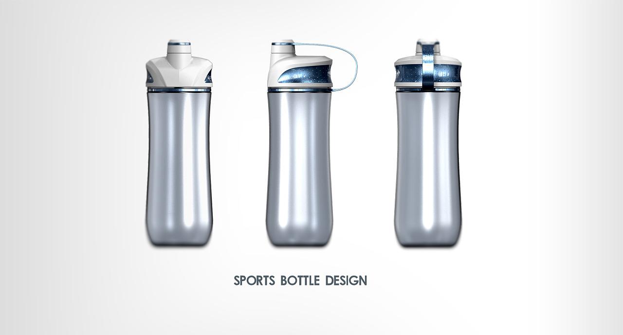 运动水杯设计