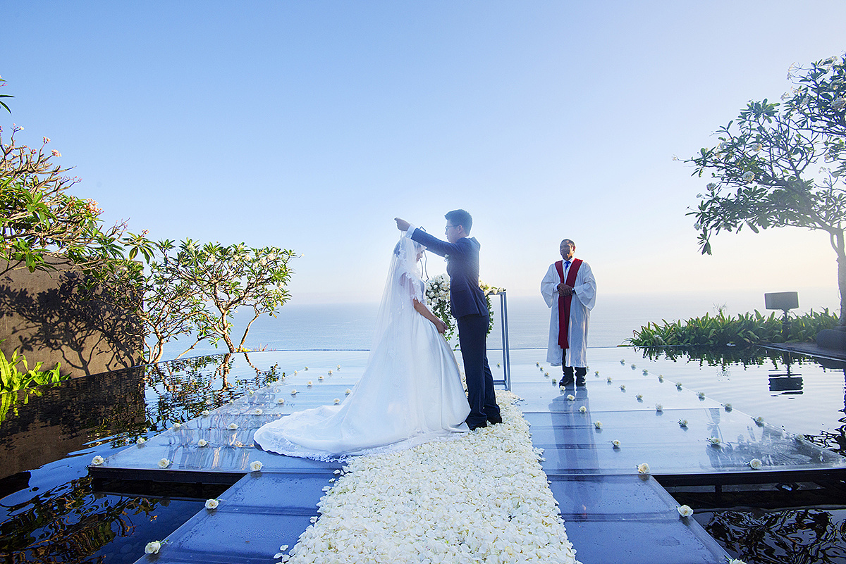 巴厘岛宝格丽婚礼纪实