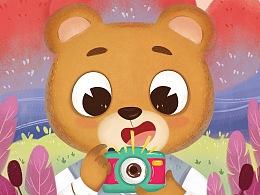 幼儿书籍封面设计,18年3月份封面总结