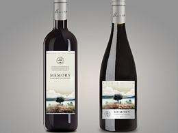 葡萄酒酒标设计 红酒品牌设计