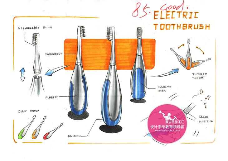 【工业设计,产品设计】工业设计考研手绘作品分享!
