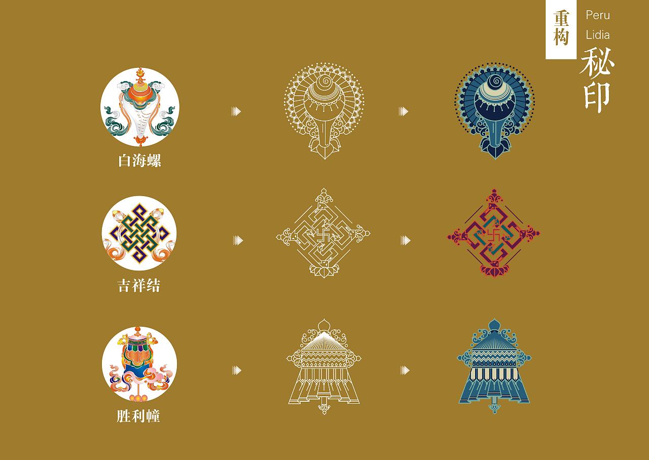 佛教图案符号和意义图片
