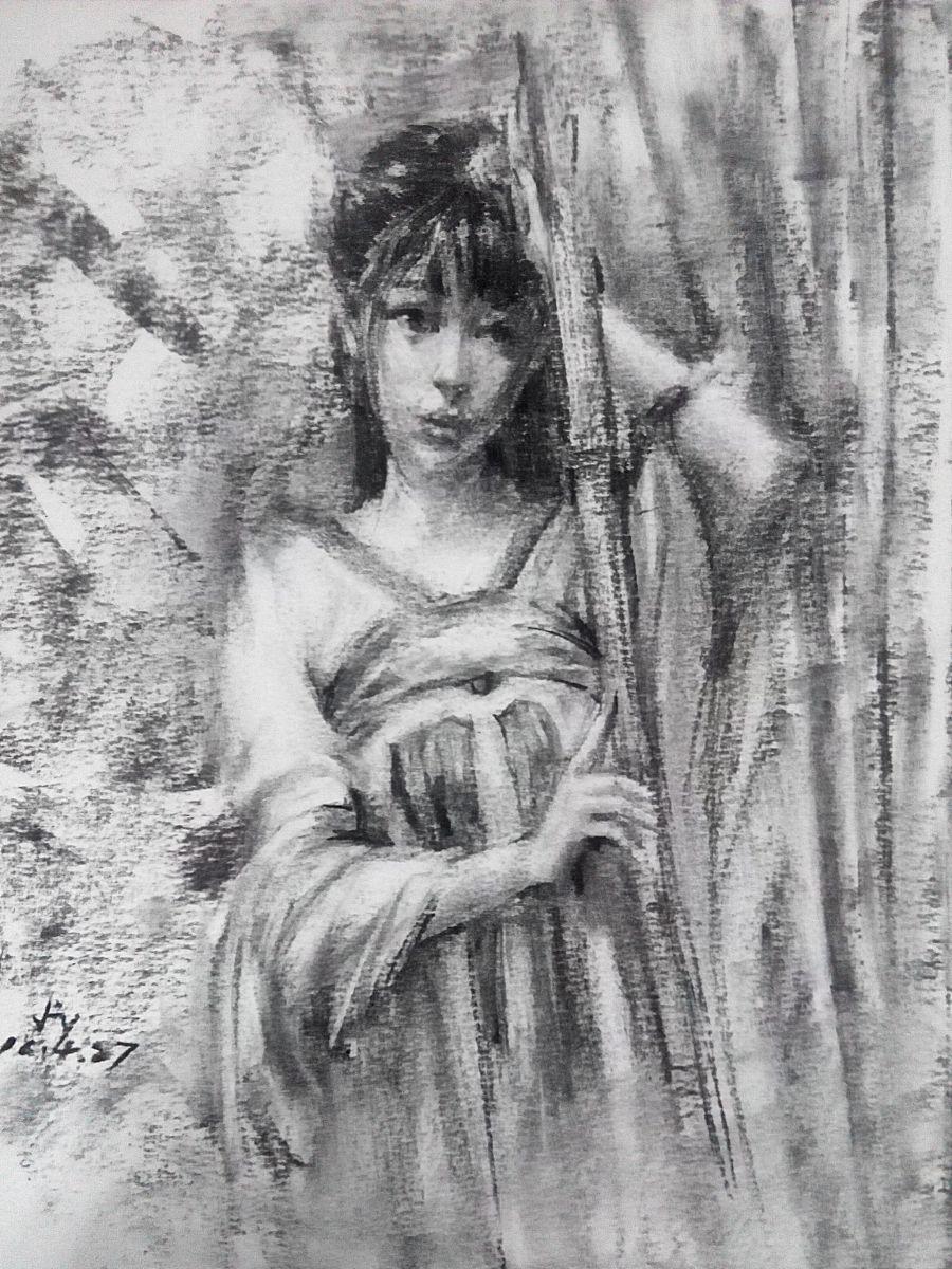 原创作品:手绘古风