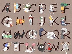 26个喵字母