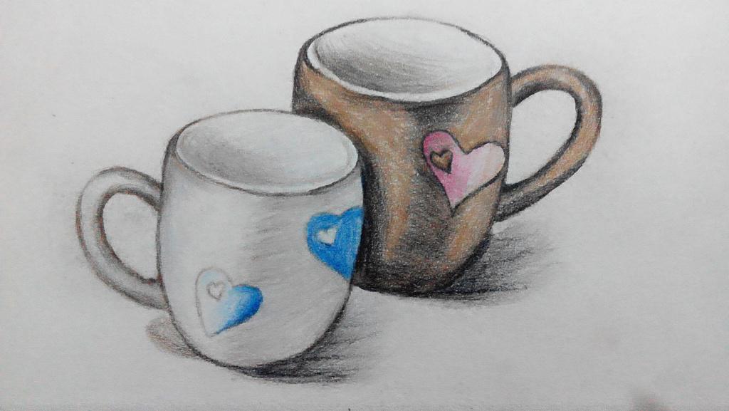 手绘——杯子