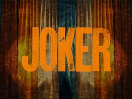 《JOKER》-Title Styleframe Redesign