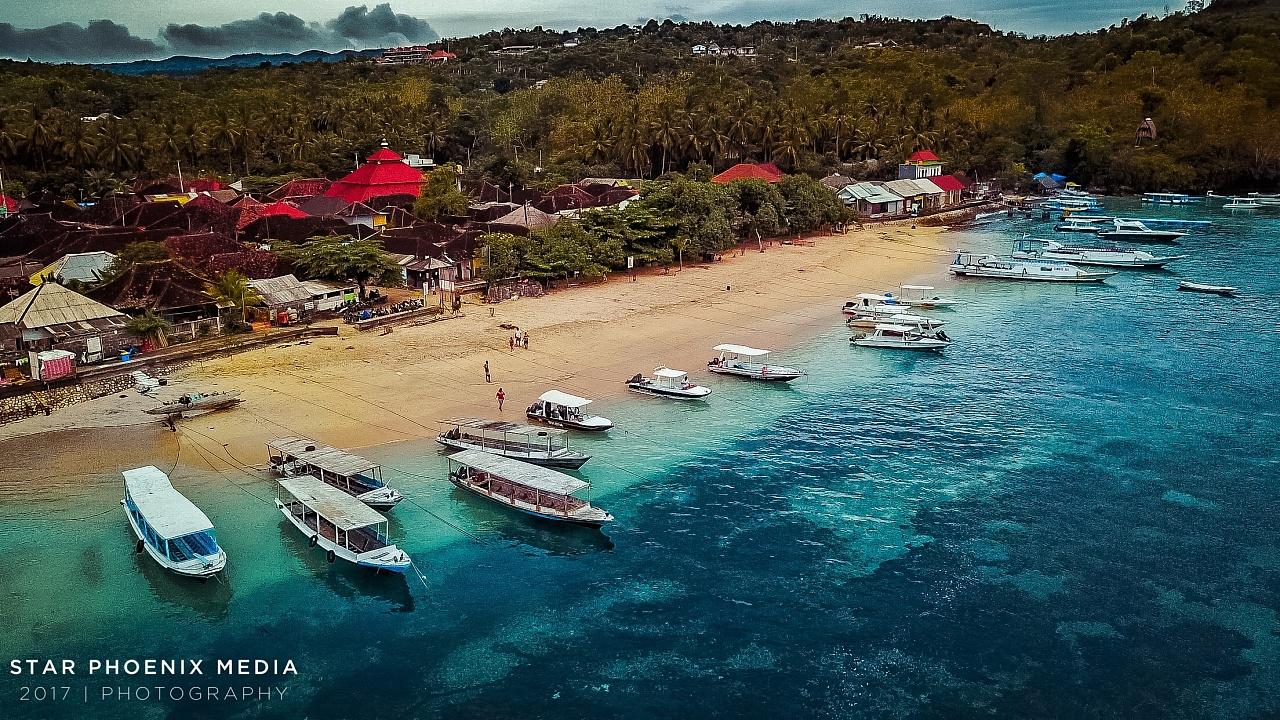 航拍巴厘岛