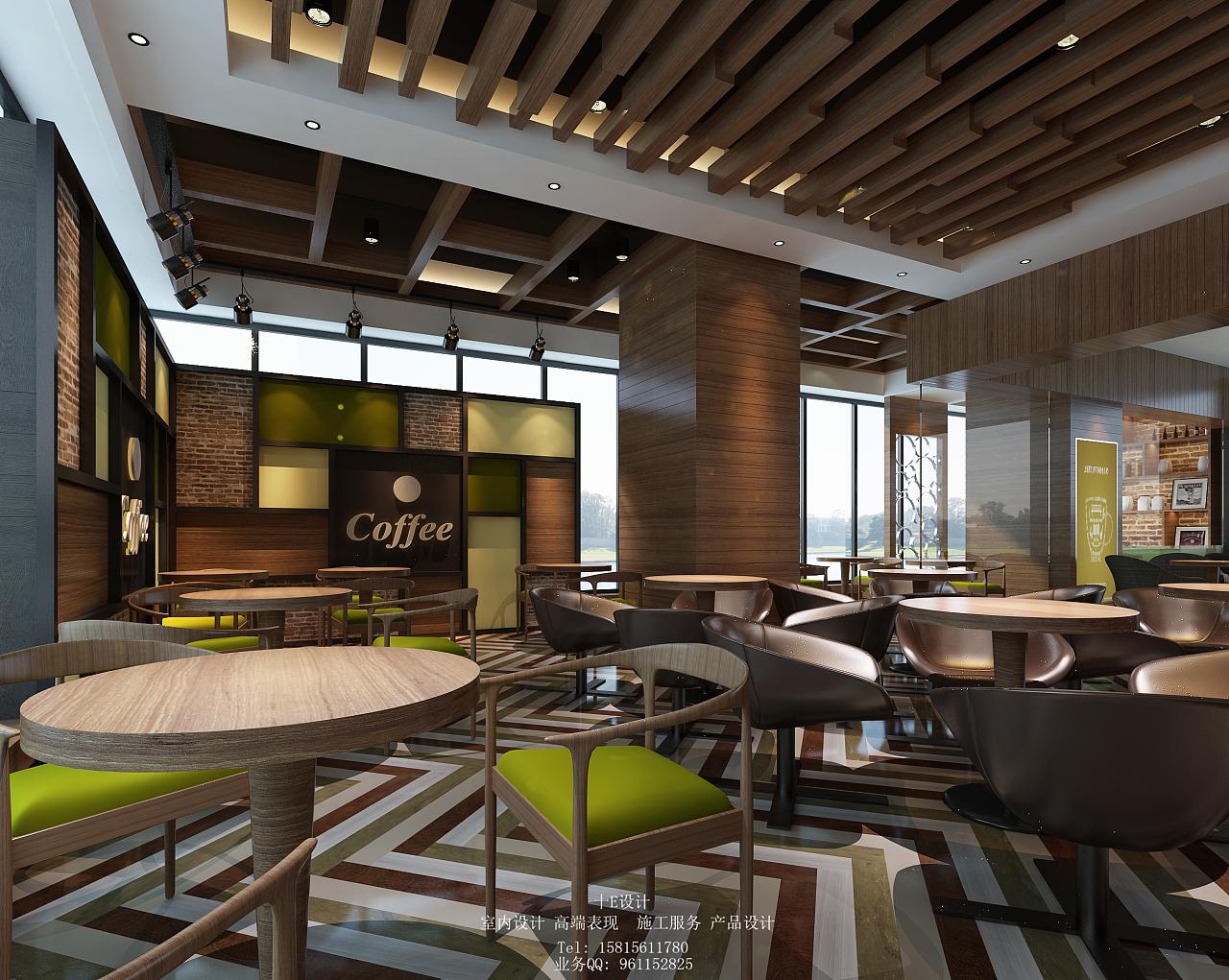 咖啡厅|空间|室内设计|shiyidesign - 原创作品