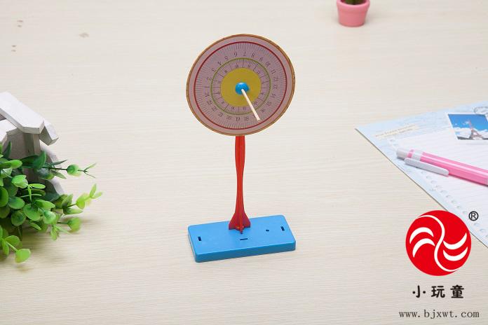 儿童科学实验玩具/ 科技小制作材料/物理教具/小学小发明diy日晷日规