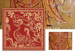 藏文化壁画元素复刻