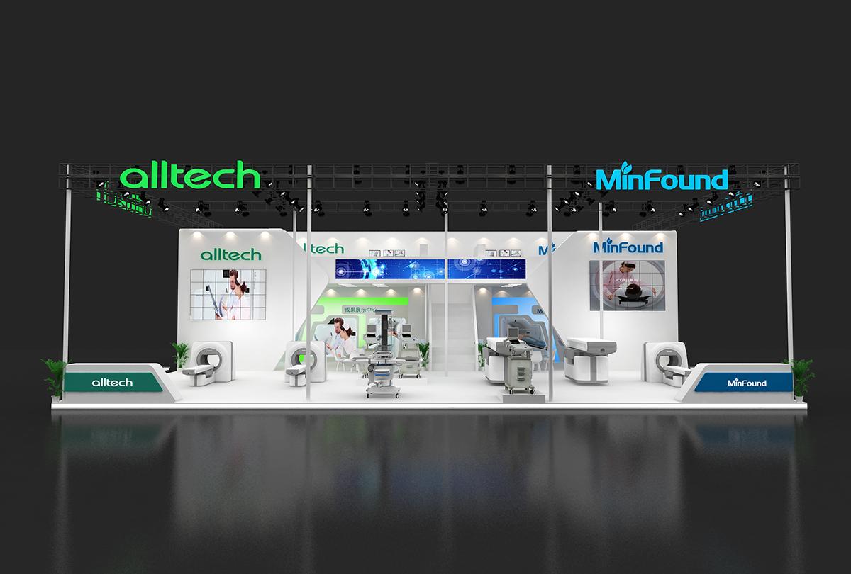 在此次上海世博展览馆的国际医疗器械设计与制造技术展medtecchina图片