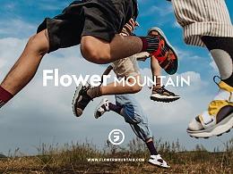日本Flower mountain山雾花野平面广告拍摄